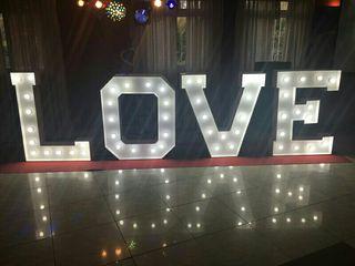 luminoso letras love