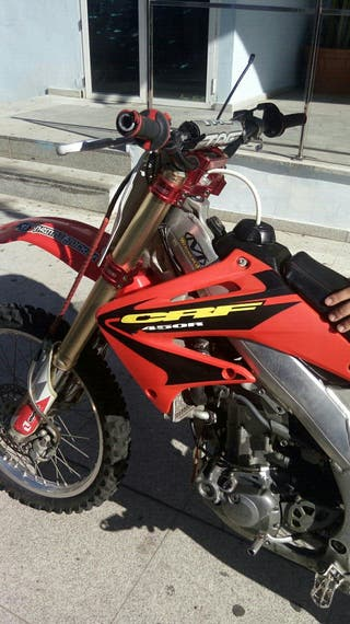 honda crf 450 motocross