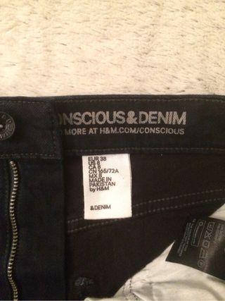 Falda tubo Denim H&M
