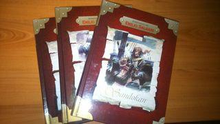Pack de 3 libros de buena calidad Emilio Salgari