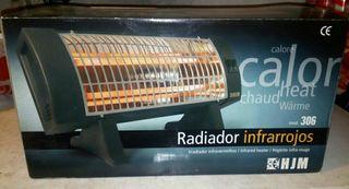Radiador infrarrojos sin estrenar