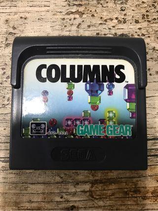juego columns sega game gear