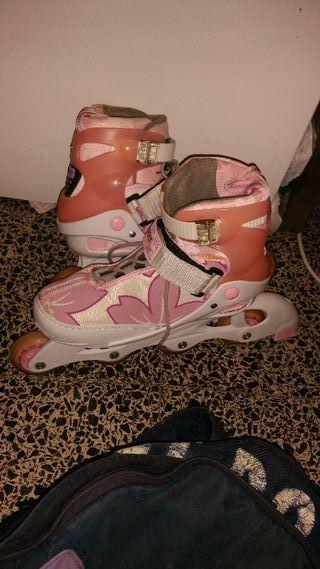 patines chica n del 39 al 41 estensibles