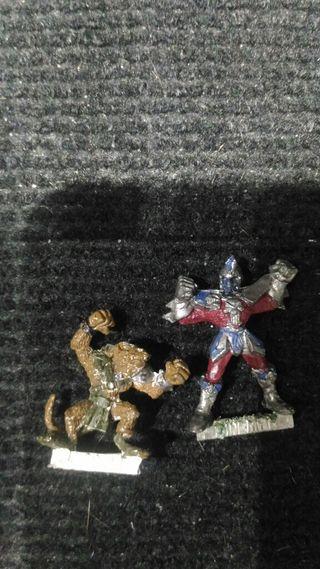 Blood Bowl Skaven Elfo Oscuro metal