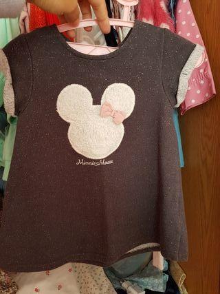 vestido de bebe disney minnie