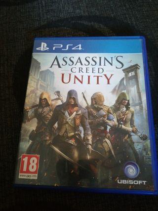 Assassin's creed unity ps4 o cambio