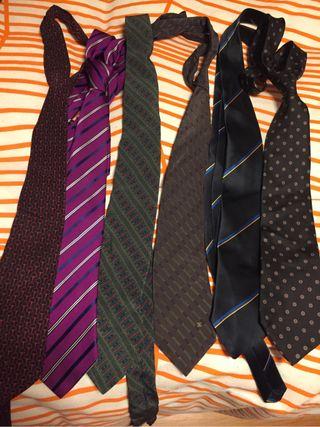 Pack de corbatas rebajado