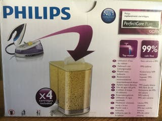 4 Cartuchos anti cal filtro Philips.