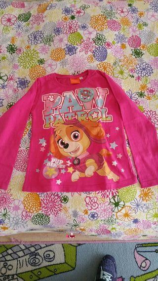 camiseta patrulla canina niña