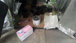 Pack cultivo para armario interior pequeño.