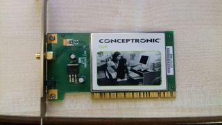 Conceptronic c54ri adaptador WiFi