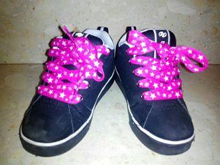 Heelys zapatillas con ruedas talla 31