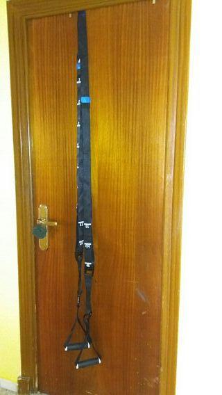 cintas puerta ejercicio decatlon