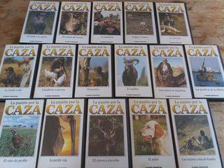 colección vhs caza