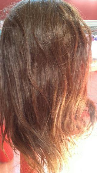 cabeza de peluqueria