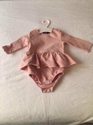 Yporque Vestido niña 6 meses