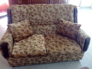 sofa de dos plazas, mas dos individuales