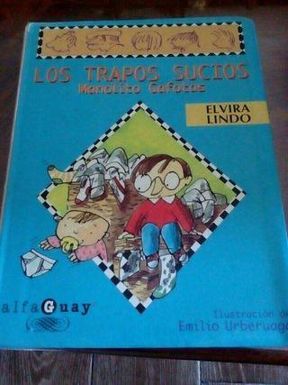Libro LOS TRAPOS SUCIOS de Manolito Gafotas