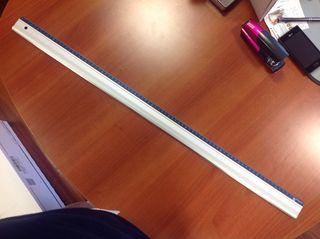 Maped regla aluminio 80 cms.