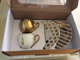 Conjunto 2 tazas espresso marca Bialetti