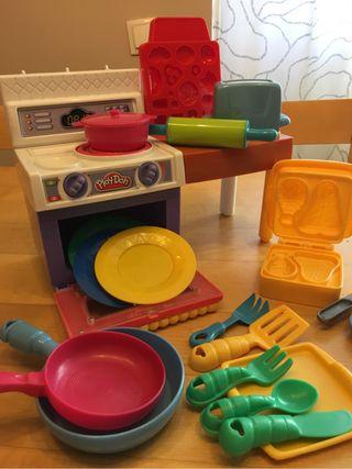 Juguetes: cocinita Play-Doh