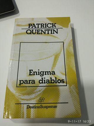 Enigma para diablos. Patrick Quentin