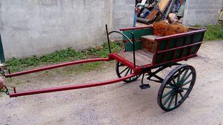 Antigüedades carro caballos