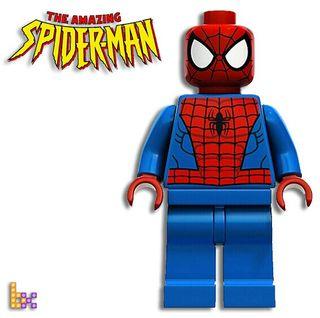 Figura compatible Lego Spiderman MARVEL