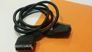 Euroconector.Cable audio. video