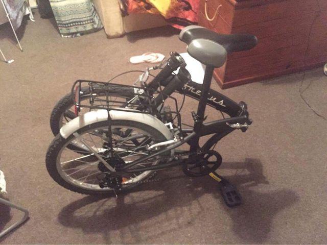 Bicycle folding frejus