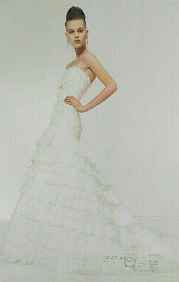 espectacular vestido de novia de segunda mano por 500 € en alcalá de