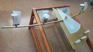 Lámpara techo de Diseño 7 halógenos