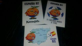 Postales Naranjito Mundial España 82