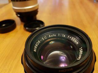 Objetivo Nikon 50mm 1:1,4