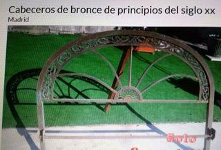 Cabeceros de bronce