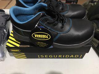 Zapatos seguridad PAREDES N41