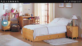 Cuna dormitorio convertible