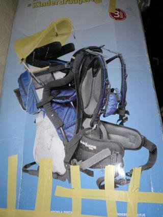 mochila para bebé, monté