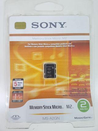 Sony M2 2Gb Tarjeta Memoria