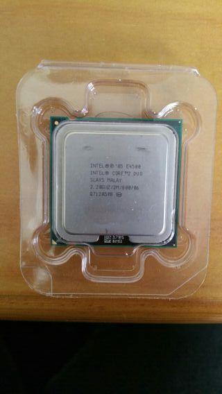 micro procesador intel dual core E4500 sockets 775