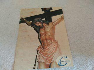 postal Cristo Colegio Concepcionistas Segovia