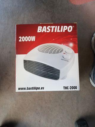 calefactor horizontal con termostato 2000w