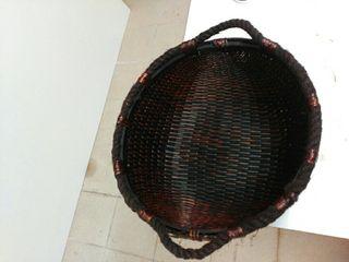 cesta decoración o fotografía newborn