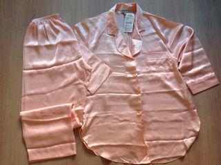 Pijama raso Zara vintage Nuevo talla M L
