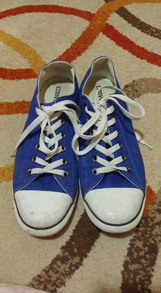 All Star Azules Suela Baja t.41