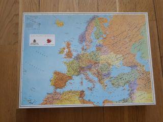 Puzzle mapa político de Europa