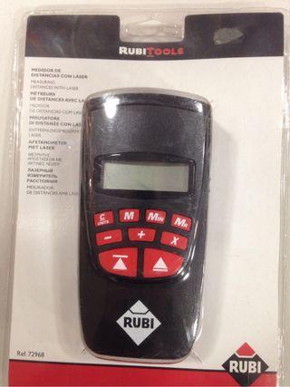 Medidor laser rubi
