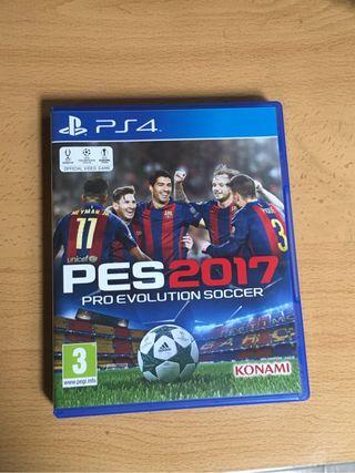 PES 2017 para PS4