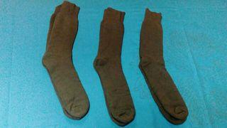 calcetines verdes militares