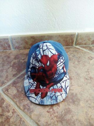 gorra niño de spiderman
